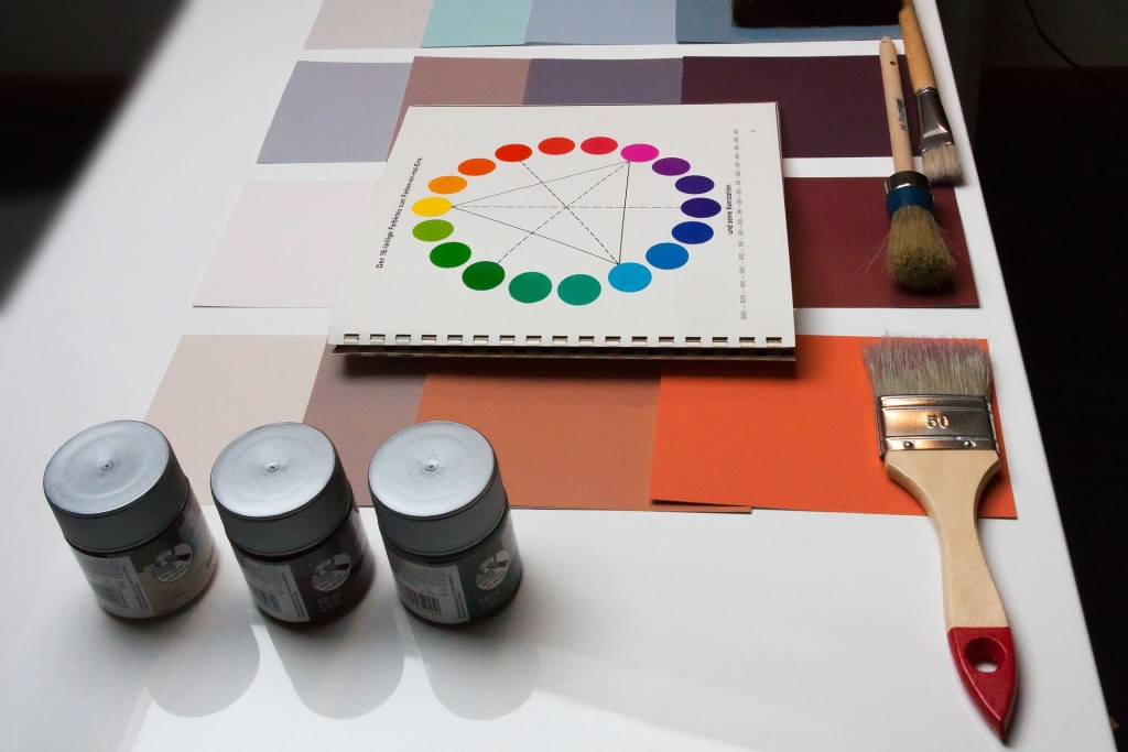 When choosing a color palette, be aware that different colors elicit different moods.